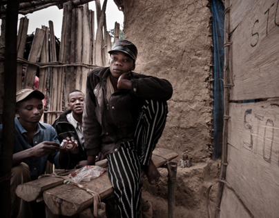 The Gold Rush. Miners in D. R. of Congo - part two