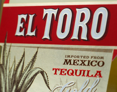 Tequila Label Design -