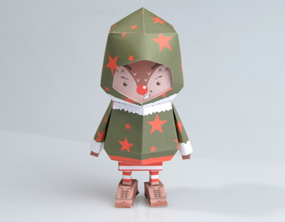 [ RUDOLPH ] Paper toy of Boogiehood