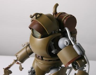 final commander mech model