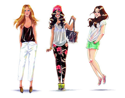 FASHION GIRLS SKETCHES VOL.2