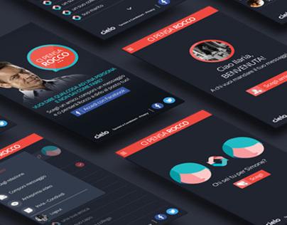 Ci pensa Rocco - Web design - Agency: M&C Saatchi Milan