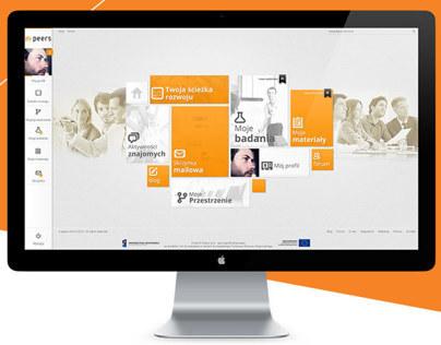 e-peers website