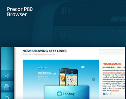 Precor Browser
