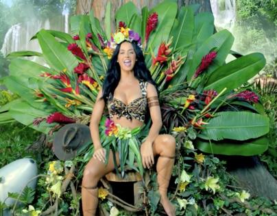 Katy Perry- Roar (Music Video)