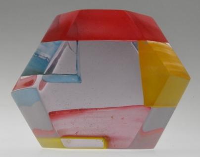 geometrical resine