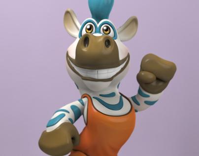 Zebra Toy Sculpt