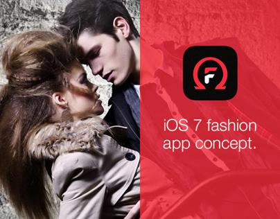 Omega Fashion iOS7 concept