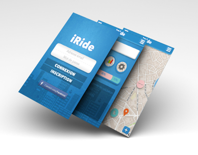 iRide (3 days project) - 2013
