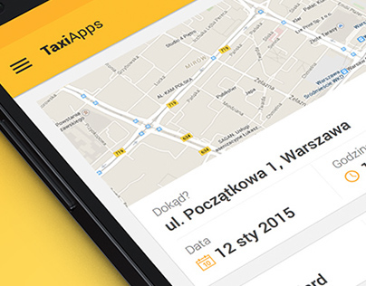 TaxiApps - Material Design