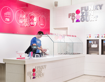 Funky Frozen Yogurt (Retail Identity)