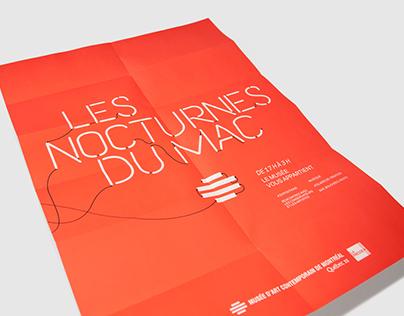 Nocturnes du MAC, Musée d'art contemporain de Montréal