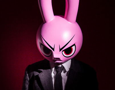 Mad Rabbit – 12″ Custom Figure