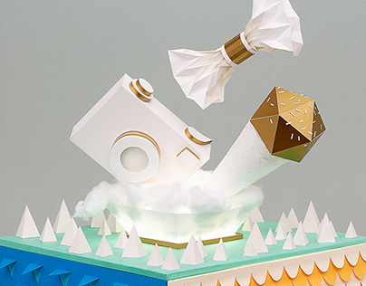 Artbox Campaign - stop motion & paper craft