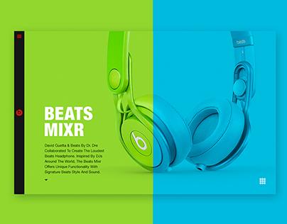 Beats by Dre - Responsive Design Concept
