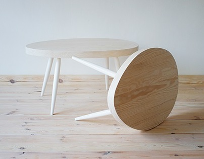Coffee tables Scandinavian Style series