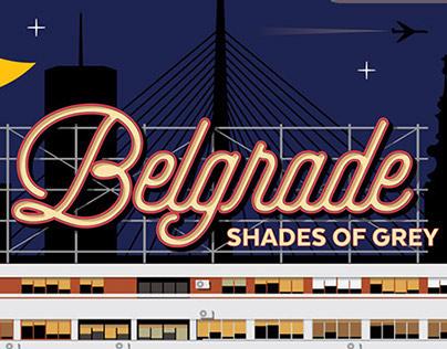 Belgrade, shades of grey