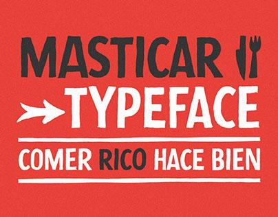Masticar Typeface