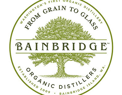 Bainbridge Distillers Labels created by Steven Noble