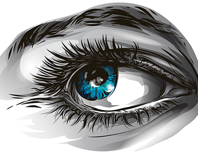 Eye Process Illustration