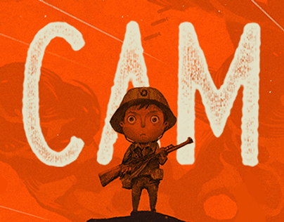 Cam the little soldier