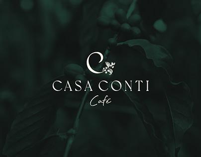 PROJETO DE MARCA CASA CONTI CAFÉ