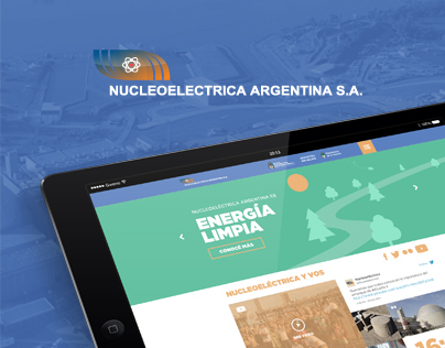 Nucleoeléctrica Argentina - Responsive Website