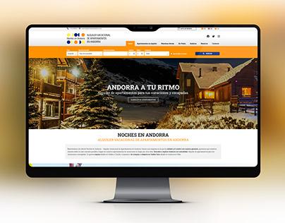 Página web de Noches en Andorra