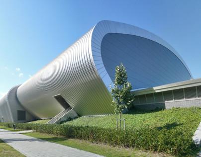National aquatic stadium, Eindhoven, the Netherlands
