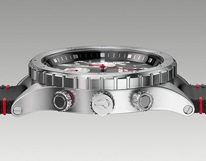 NIXON Chrono - design concept