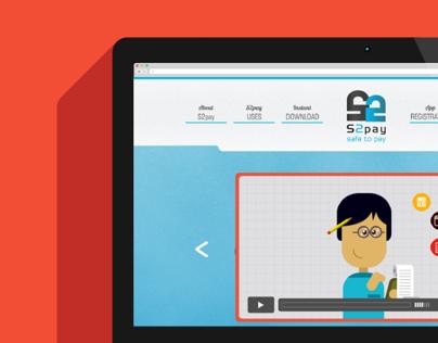 S2Pay App Website Design + Animation