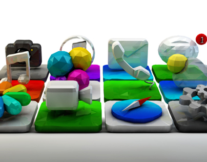 Apps in 3D