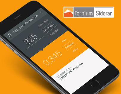 Ternium Siderar - App